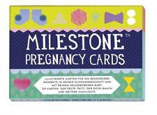 Milestone Pregnancy Cards Kartenset Schwangerschaft Wochenbett Fotokarten