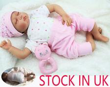 22inch Lifelike Vinyl Silicone Reborn Baby Doll Product Soft Newborn Gifts