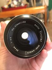 VIVITAR WIDE ANGLE  35MM F2.8 auto Lens For Canon FD Mount
