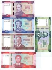 More details for liberia 5 + 10 + 20 + 50 + 100 dollars 2016 set of 5 banknotes 5 pcs  unc