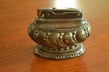 "Vintage Ronson ""Crown"" Table Lighter, Silver-Plate, Works!, M408"