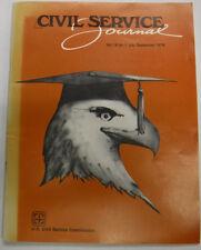 Civil Service Journal Magazine Personnel Connection September 1978 FAL 071815R