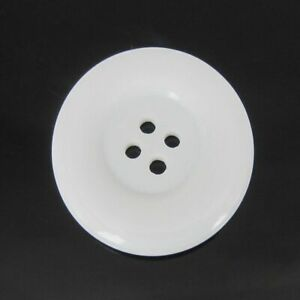 4 Holes Resin Buttons 38mm Round Large Button For Clothing Sewing Accessory 6Pcs