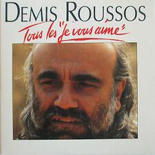 """DEMIS ROUSSOS - CD SINGLE """"TOUS LES """"JE VOUS AIME"""""""