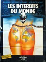 Plakat Kino Les Verboten Du Monde - 120 X 160 CM