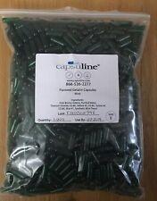 Capsuline Flavored Gelatin Capsules Mint Size 0