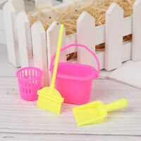 4Pcs/set Dollhouse Home Furniture Cleaner Cleaning For Doll House Set Toy FT