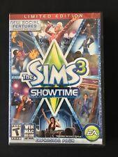 Sims 3: Showtime (Windows/Mac: Mac and Windows, 2012) PREOWNED DVD-ROM GAME GOOD