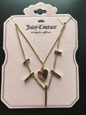 JUICY COUTURE LAYERED NECKLACE NEW!