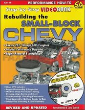 How to Rebuild Chevy V8 Engine Book and DVD 283 305 307 327 350 400 Chevrolet