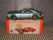 BANDAI, TORONADO W/AUTOMATIC BLINKING TAIL LIGHT FULLY WORKING W/ORIGINAL BOX!
