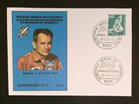 BERLIN MK 1975 WELTRAUM SPACE SHUTTLE MAXIMUMKARTE MAXIMUM CARD MC CM c9361