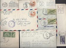 US 1915 1945 COLLECTION OF 23 ARMY NAVY COVERS FROM WWI TO WWII WITH VARIOUS