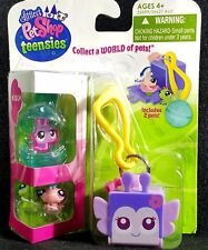 Littlest Pet Shop Teensies Meadow 2 Pets T93 T94 Bubble Keychain House NEW 2011