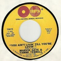 45RPM, MARVIN GAYE / TAMMI TERRELL ' KEEP ON LOVIN ME HONEY' EXC ' MOTOWN SOUL