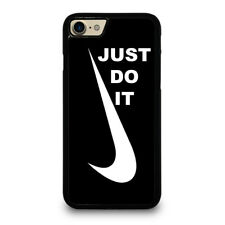 NIKE LOGO JUST DO IT iPhone 4/4S 5/5S/SE 5C 6/6S 7 8 Plus X Case Cover