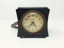 Vintage Telechron 8H55 Selector Art Deco Bakelite Electric Mantle Alarm Clock