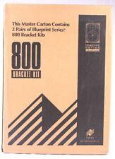 2 Pairs Of Niles Blueprint Series 800 In Wall Loudspeaker Bracket Kits NOS