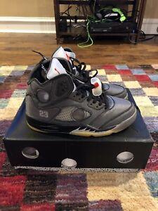 Off White Jordan 5 Size 8 READ DESCRIPTION