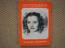CINEMA 74 FASSBINDER SCHYGULLA EFFI BRIEST RIVISTA FRANCIA 1974