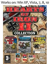 Hearts of Iron II 2 Complete Collection PC Game
