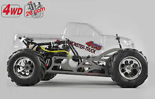 FG Modellsport # 24050 Monster Truck WB535 4WD 26 ccm unlackiert ohne Funke