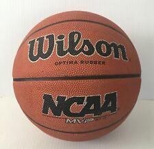 Orange Inflate WILSON Optima Rubber NCAA Basket Ball  C1