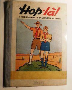 HOP-LA Album éditeur des n°105 à 117 - décembre 1939 au 3 mars 1940. Bel état