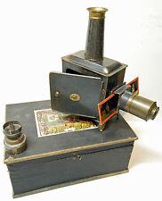 MAGIC LANTERN -lanterne magique E.PLANK- Petit Modèle Vitrine -ALLEMAGNE - 1890