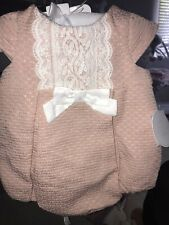 SHABBY CHIC BABY 3 PIECE SET OUTFIT 3-6 MONTHS BNWT