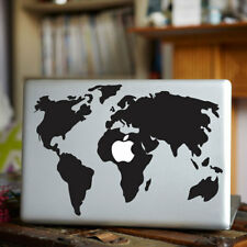 Retro World Map Pattern Vinyl Decal Sticker Skin For Macbook Air/Pro Notebook