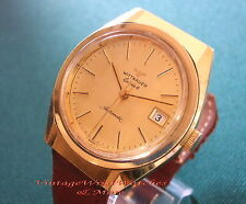 "Orologio  WITTNAUER - LONGINES - Automatic 70/80""s - Gold Filled - Vintage Watch"
