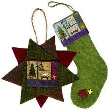 """My 1st Christmas"" Cross Stitch Pattern & Silk Gauze by ERICA MICHAELS"
