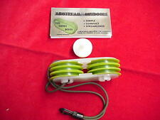 Mid Stream Tippet Storage & Carrier with 4 Spools Great New