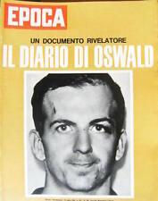 Epoca 720 1964 Inserto Album di Elisabetta d'Inghilterra. Diario di Lee Oswald