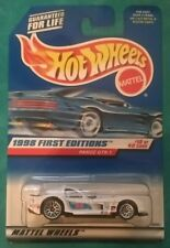 1998 HOT WHEELS FIRST EDITIONS PANOZ GTR-1 #657 SILVER LACE WHITE CHINA  #19