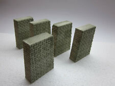 5 Stück Brückenpfeiler, H0, TT - 10 cm