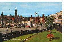 Lancashire Postcard - Kingsway and Mersey Tunnel - Liverpool    XX725