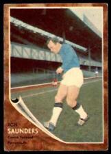 Carte collezionabili calcio 1963 singoli portsmouth