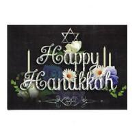 It's Christmas! Set of 2 Happy Hanukkah Greeting Cards