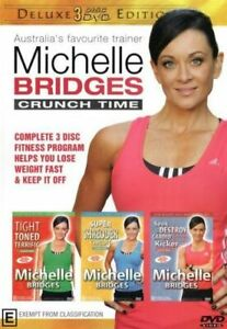 Exercise DVD : Michelle Bridges : Brand New Sealed 3 Disc Set
