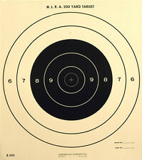 """on tagboard 18½/"""" x 28/"""" 50 Official NRA 50 Meter Running Boar Targets"""