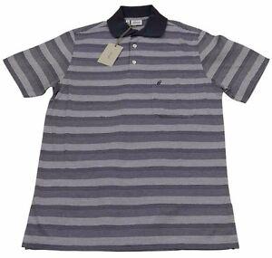 Brioni Mens Polo T Shirt Handmade SZ S/EU46 UK 36 Cotton Made in italy