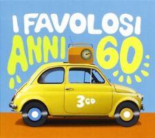 I FAVOLOSI ANNI 60   EDOARDO VIANELLO/RITA PAVONE/NINI ROSSO/DINO/+  3 CD NEU