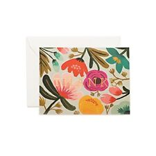 New Gold Floral Thank You Note Cards by Rifle Paper Co. Set of 8 and Envelopes