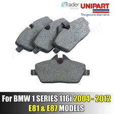 For BMW 1 SERIES 116i FRONT BRAKE PADS PAD SET 1.6 & 2.0 E81 E87 2004 - 2012