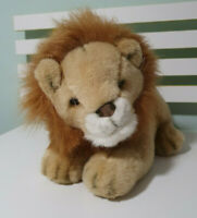ING LION PLUSH TOY STUFFED ANIMAL BANK PROMO TOY 30CM LONG 24CM TALL