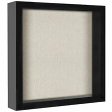 11x11 Inch Shadow Box Frame with Soft Linen Back Perfect Display FREE SHIPPING