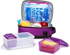 Arctic Zone ULTRA Lunch Pack (2 x Expandable) NO ICE PACKS!! 3-in-1 Bento