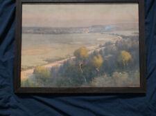 Wiliiam L. Lister,Sydney Australia Landscape,Watercolor,7 Wynne Prizes,Museums